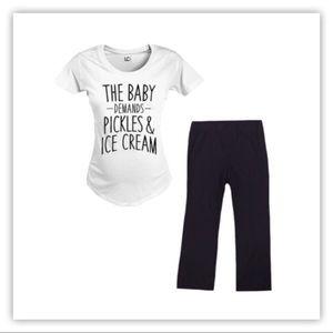 Motherhood Maternity Black Maternity Pants